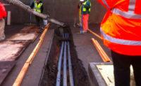 underground trenching