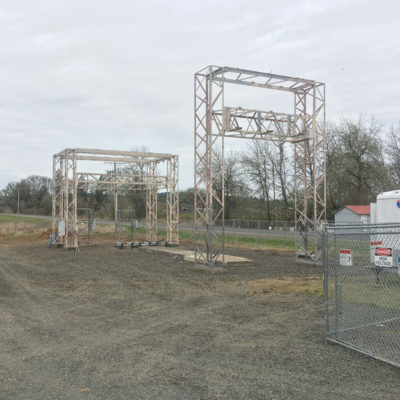 complete electrical sub station rebuild high pass substation.